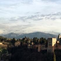 Granada, Spain - 15 February, 2017